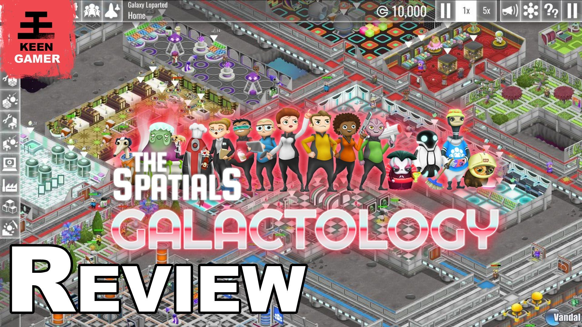 The Spatials Galactology Review