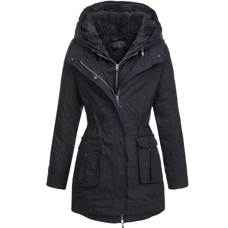 Winterjacke | Wintermantel | Baumwoll-Mantel für Damen von Rock ...