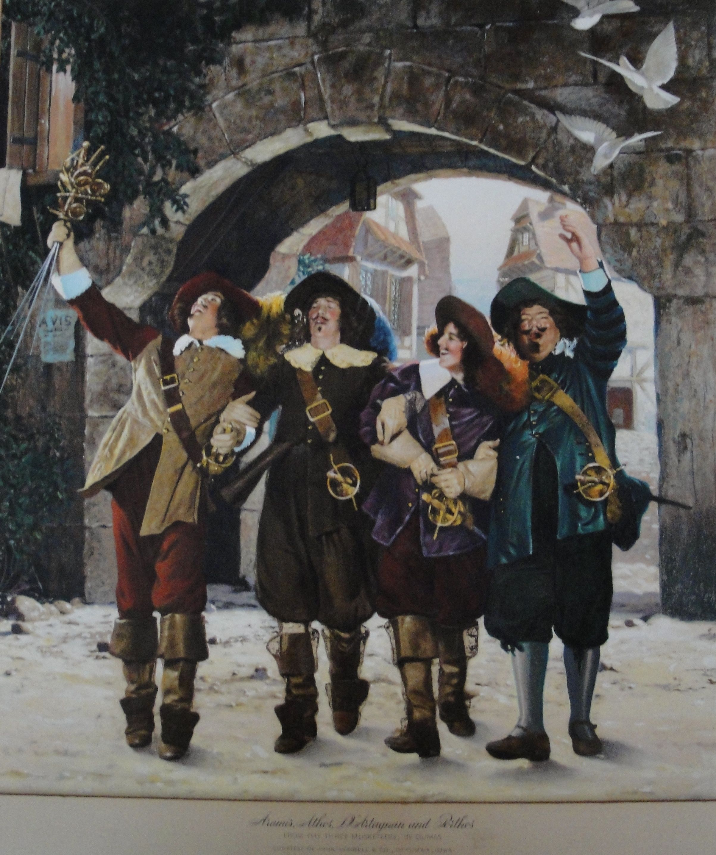 On the set of D039Artagnan and the Three Musketeers