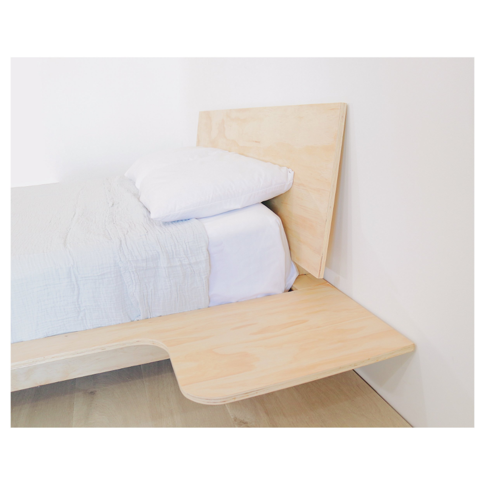 DIY PLYWOOD BED — Modern Builds (With images) Modern bed