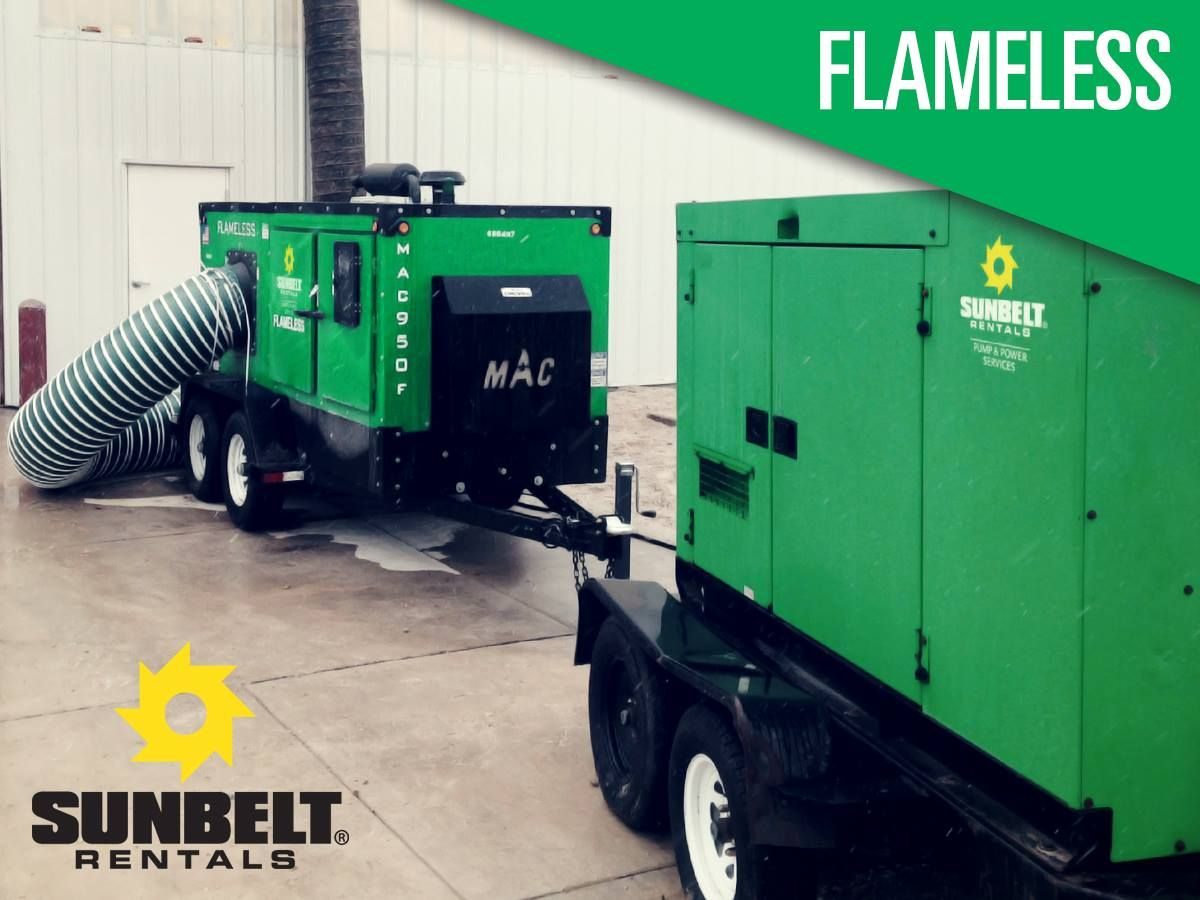 Flameless heat sources produce heat from engine exhaust