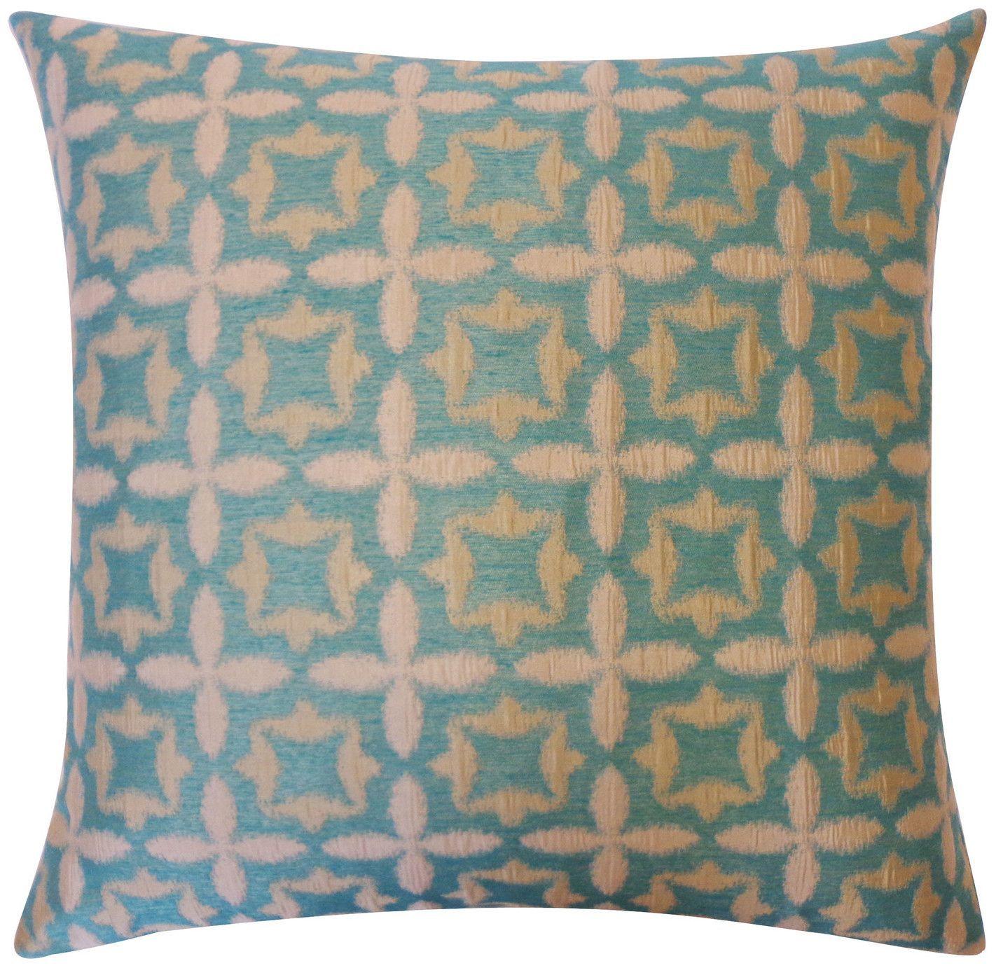 Motiff Indoor Pillow Aqua