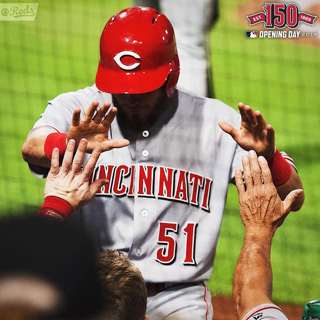Another Day Closer Only 51 Days Until Redsopeningday Cincinnati Reds Cincinnati Reds Opening Day