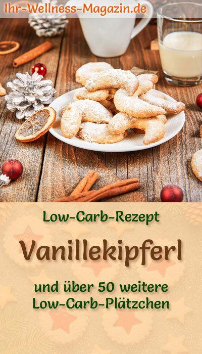 Low Carb Vanillekipferl – einfaches Plätzchen-Rezept für Weihnachtskekse