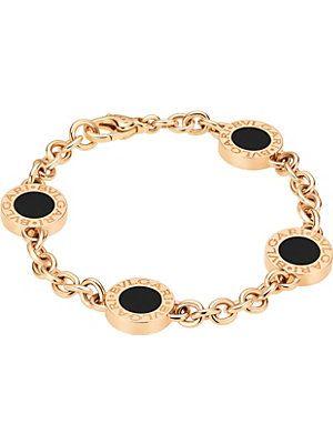 7d876462a14b BVLGARI BVLGARI-BVLGARI 18ct pink-gold bracelet