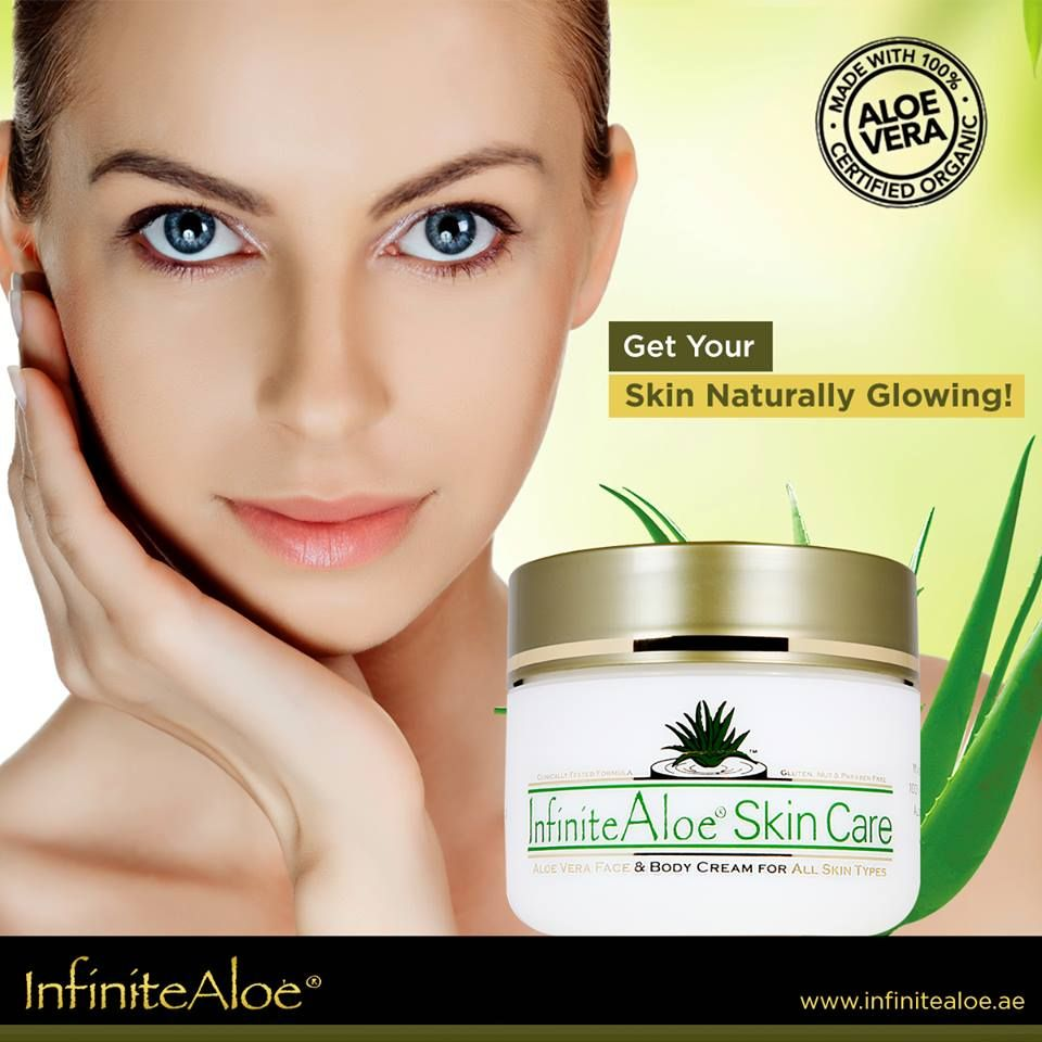 Treat Your Skin With Some Extra Moisture Nourishment And Care To The Skin With Infinite Aloe Carrying All The Natural Q Face Products Skincare Skin Care Aloe