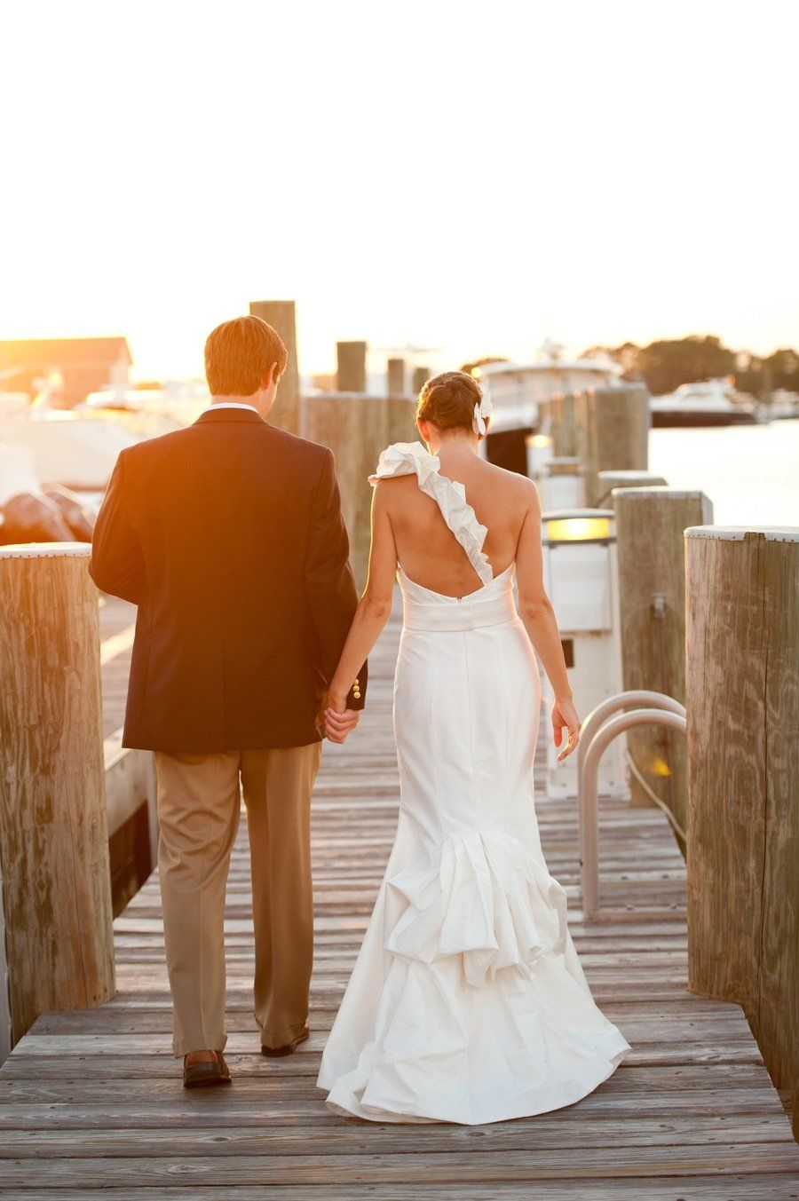 Cape Cod Wedding Ideas Part - 20: Cape Cod Wedding At Nauticus Marina From The Casual Gourmet