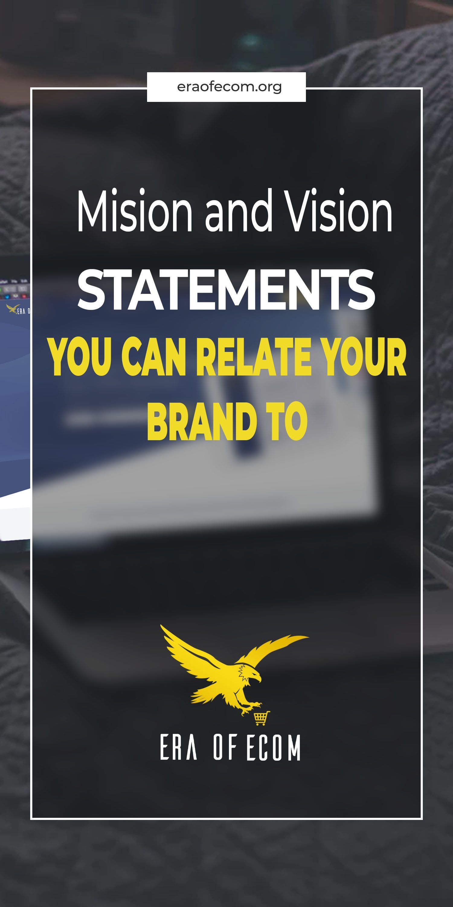 A Brand With No Mission Or Vision Is Nothing Make It A Part Of Your Business Vision And Mission Statement Vision Statement Examples Mission Statement Examples