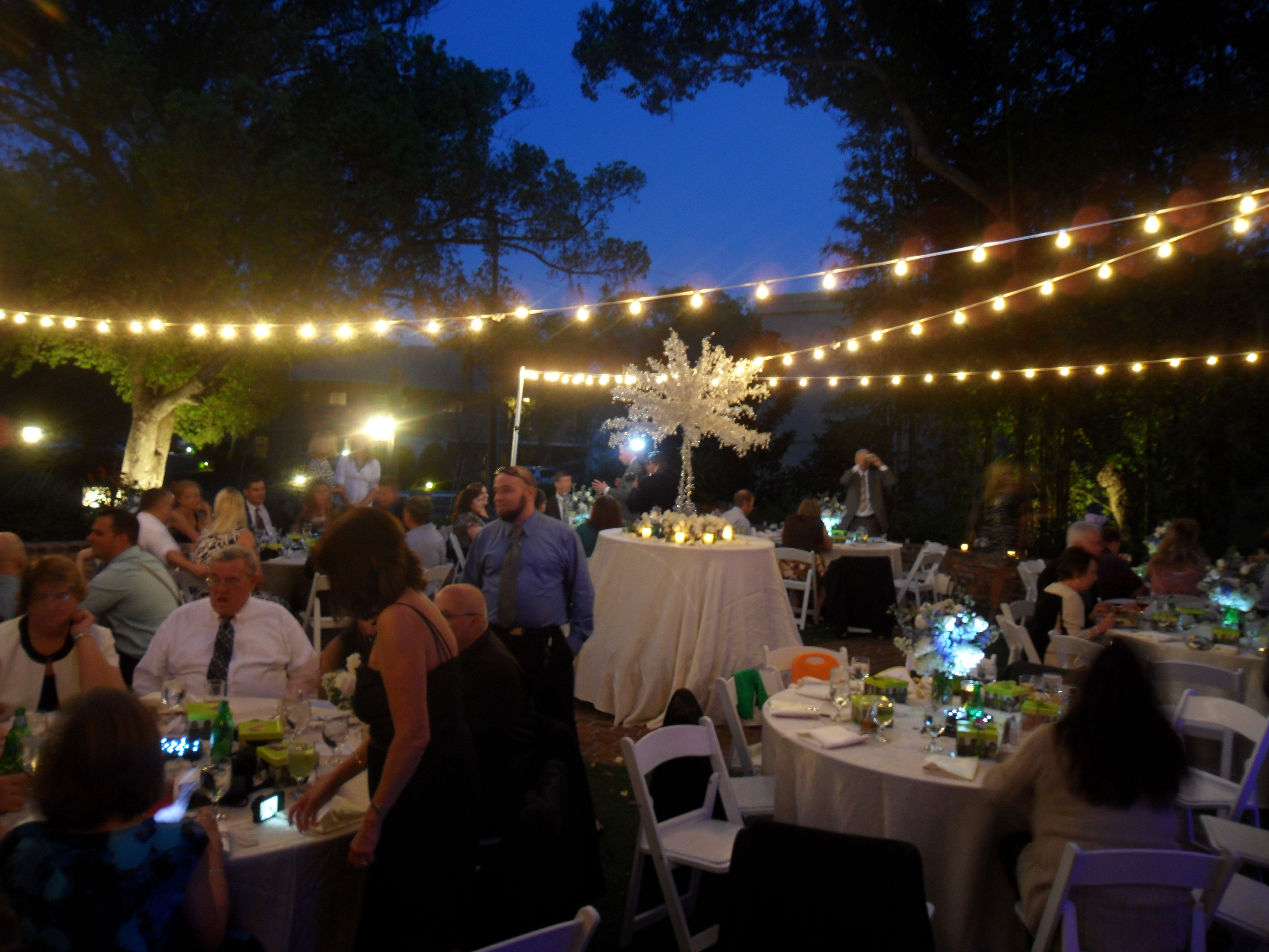 Market Lighting Casa Feliz Winter Park Wedding Orlando Dj And