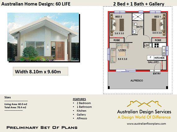60 Life -60 m2 Living Area / 2 Bedrooms + 2 bathroom Granny Flat ...