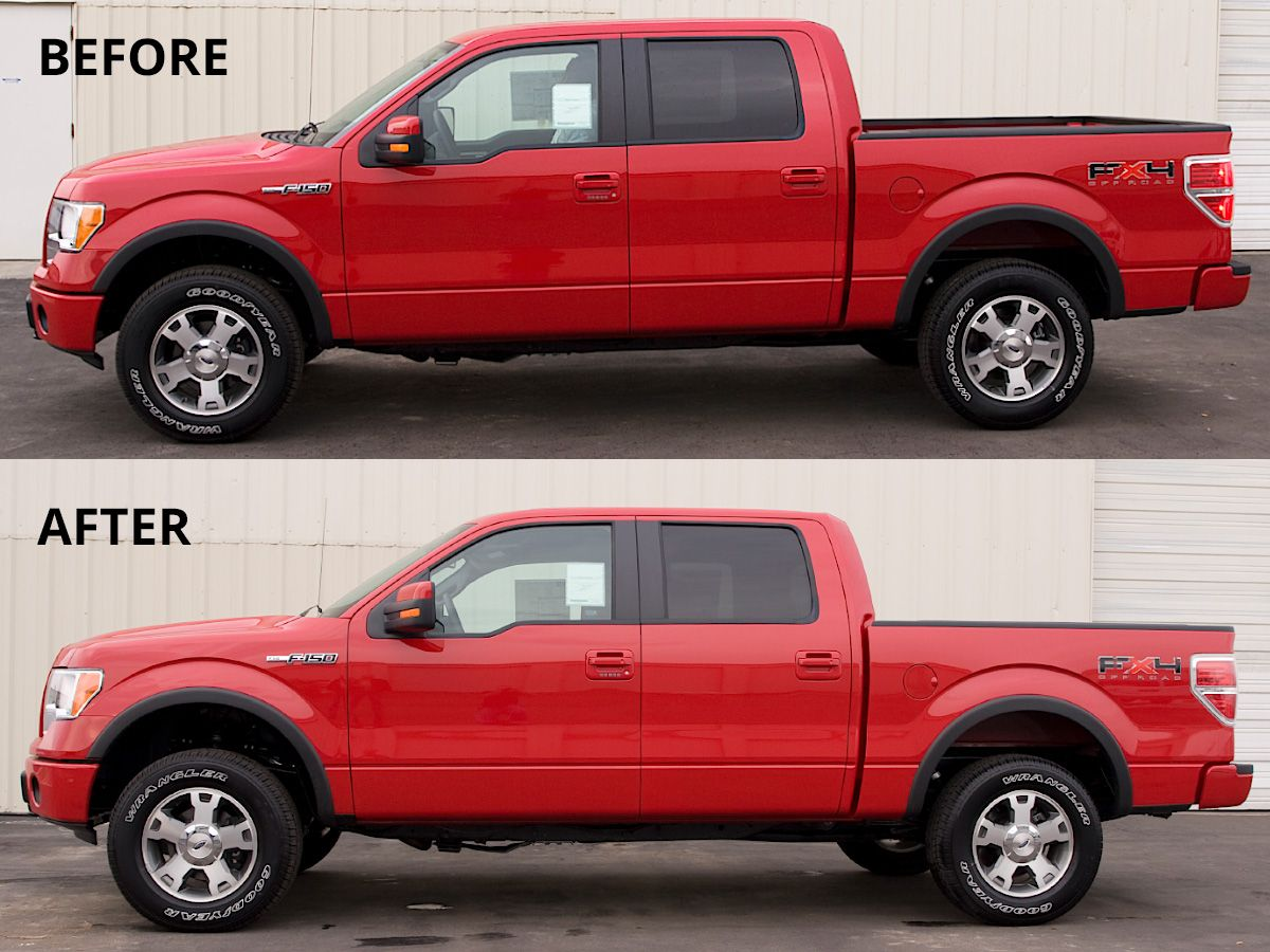 2009 2019 Ford F150 Leveling Kit Tuff Country 22909 Suspensionconnection Com Ford Trucks F150 Ford F150 Ford F150 Accessories