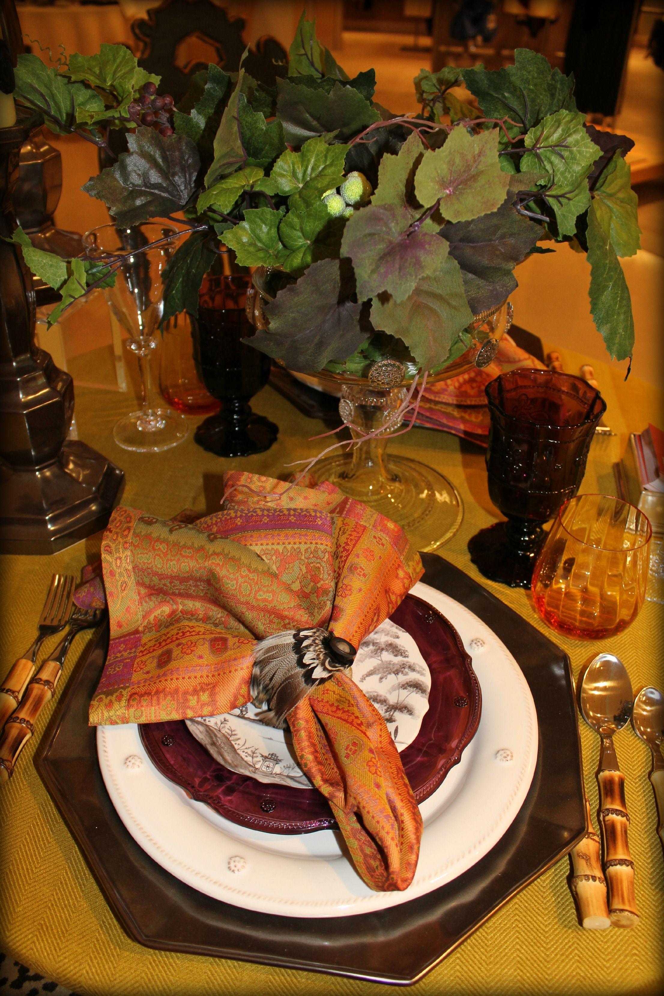 Fresh Autumn Vinyl Tablecloths