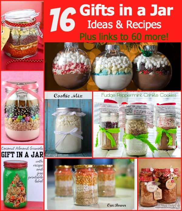 Make A Gift Day 16 Gifts In A Jar Ideas And Recipes Jar Gifts Meals In A Jar Mason Jar Gifts