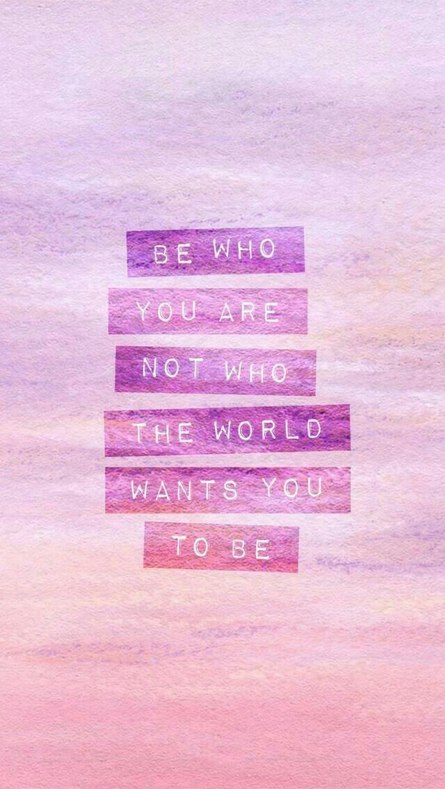 Be Original Be Yourself Beginning Quotes Wallpaper