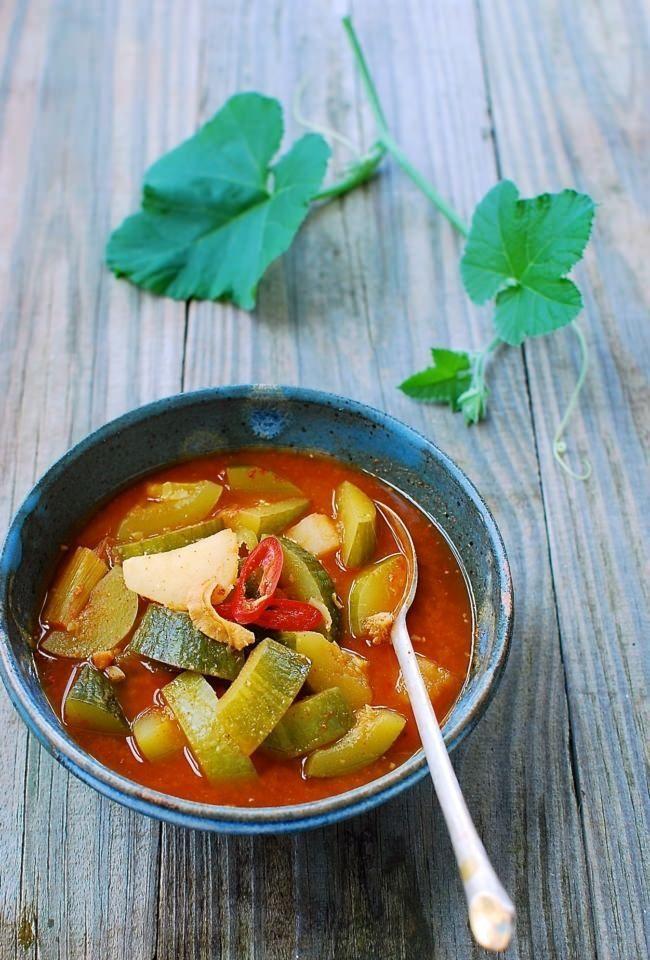 korean spicy zucchini stew