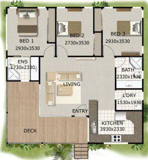 3 Bedroom Kit Home