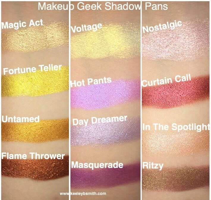 6e18f2033fd Makeup Geek Individual Shadow Review + Swatches. Click for full blog post