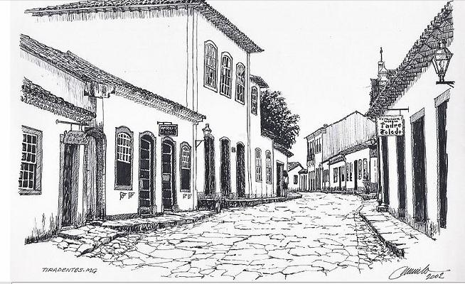Resultado de imagem para desenhos de ruas