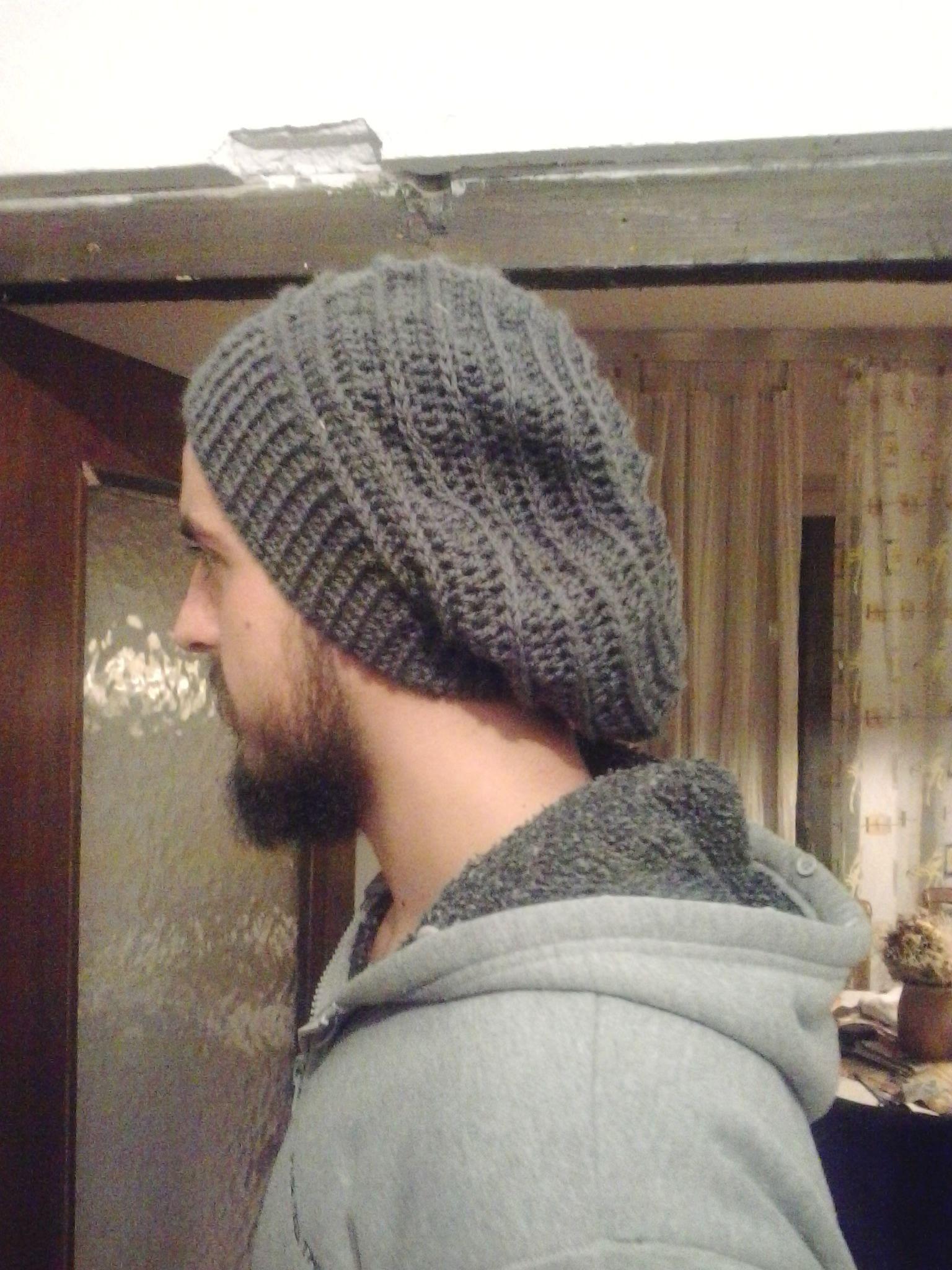 Gorro de lana para hombre. Tipo Beanie  77c499f76dfe
