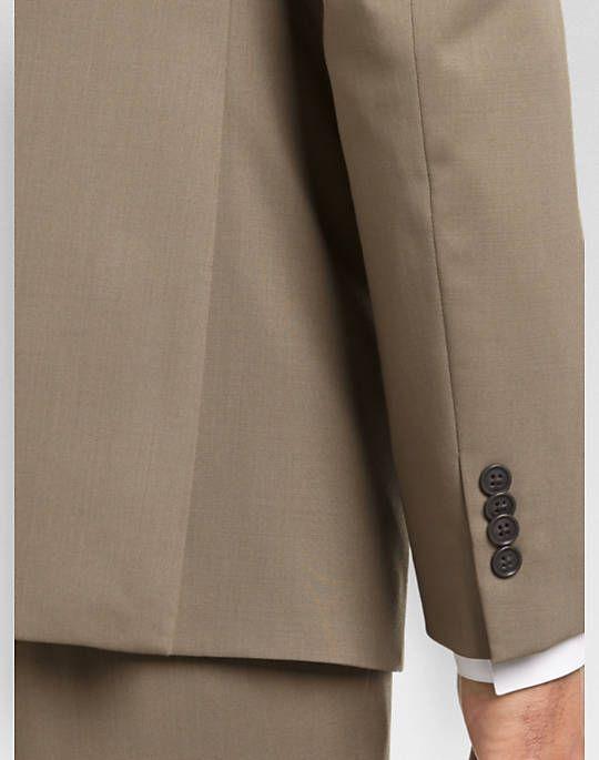 d208ccb81 Joseph Abboud White Label Tan Slim Fit Suit (Outlet) - Slim Fit ...