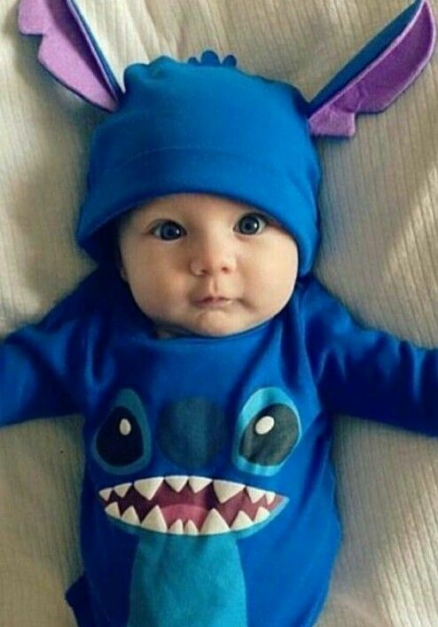 206209647d85 Cute Disney Stitch baby | Newborn baby clothes | Baby boy outfits ...