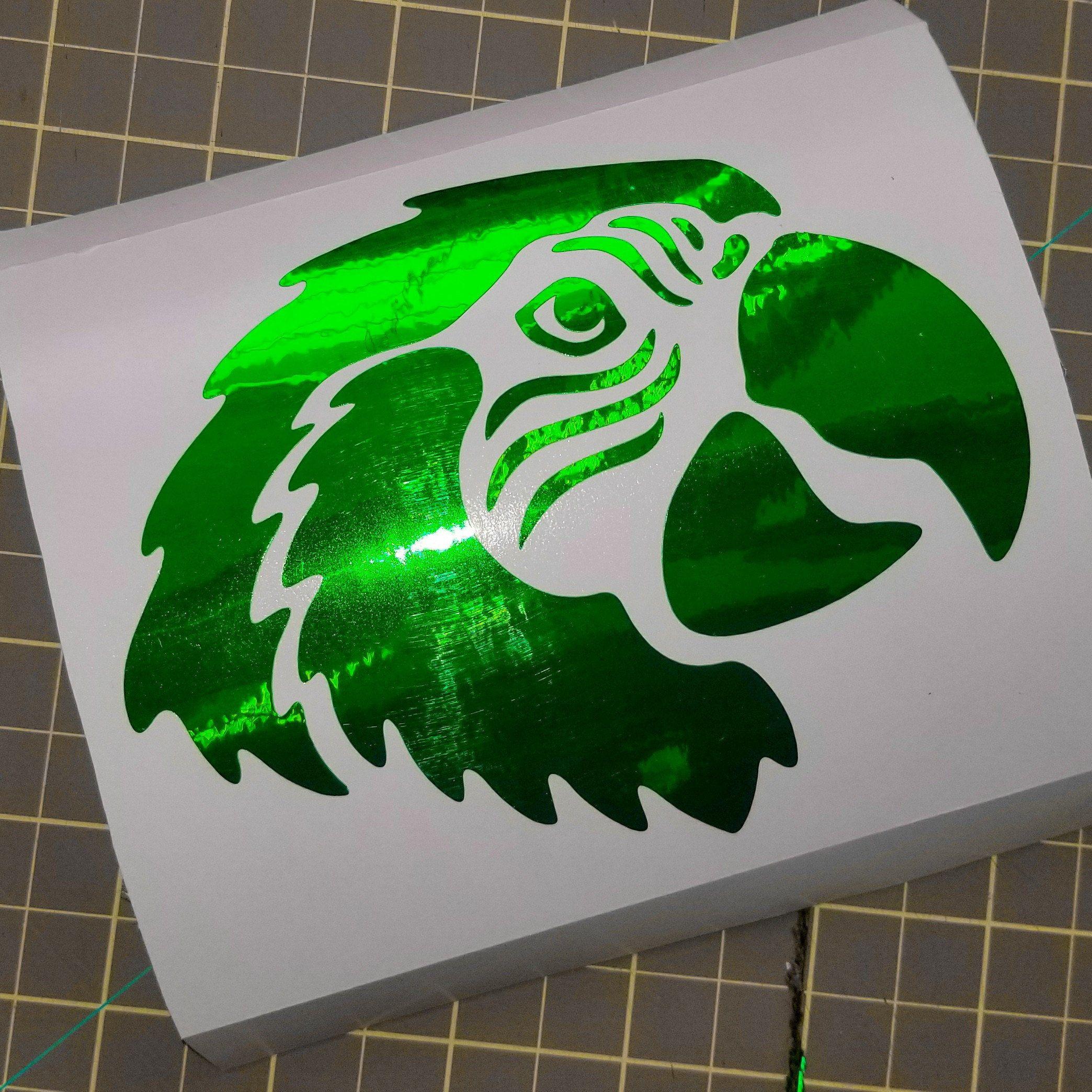 Parrot Decal Macaw Head Laptop Sticker Parrot Face Laptop Decal