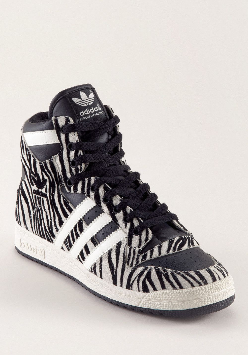 the latest bf52e a2a45 ADIDAS Decade OG Zebra Suede black-black-white, Fashion Sneaker,
