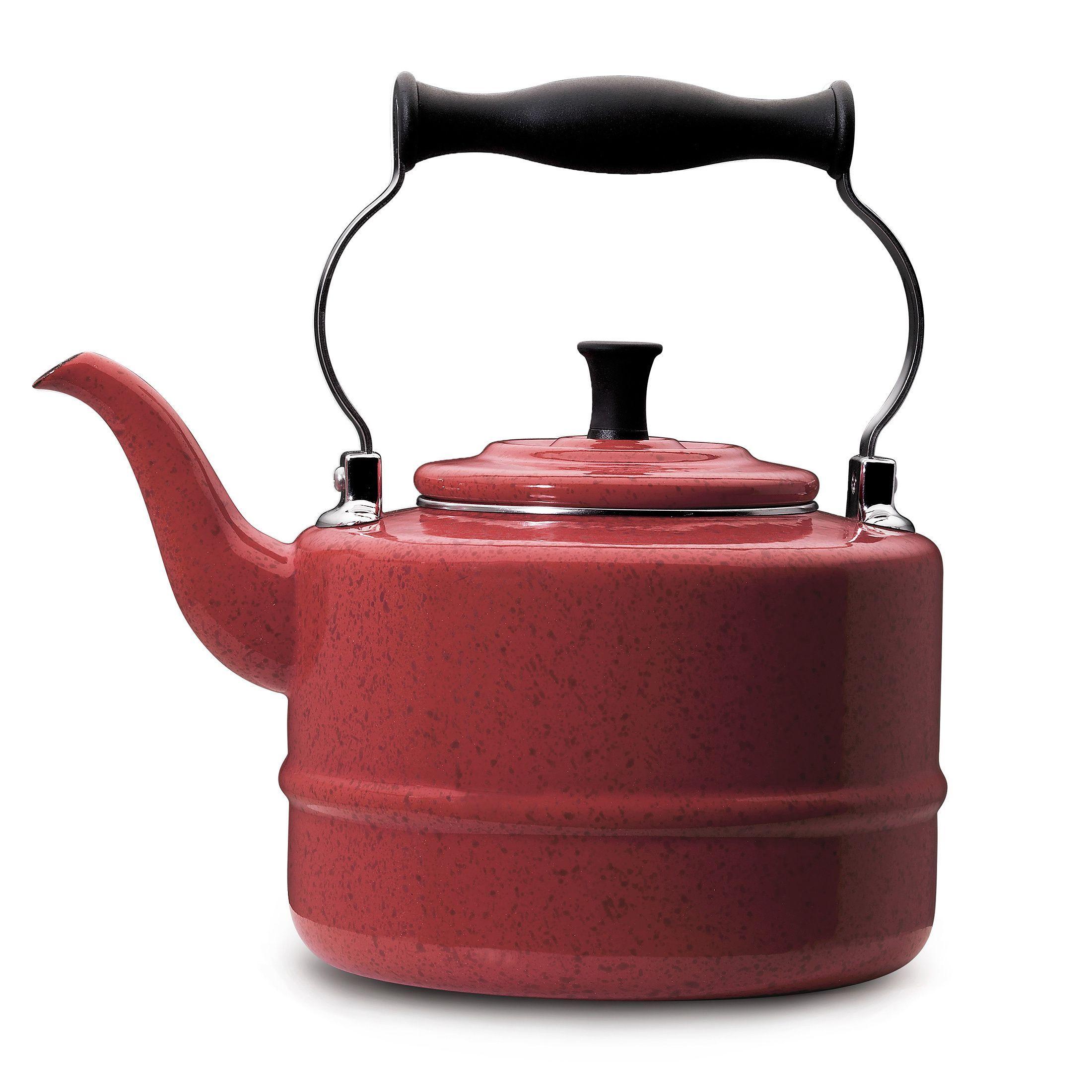 li brew up a hot cup of tea with this paula deen kettle ul li