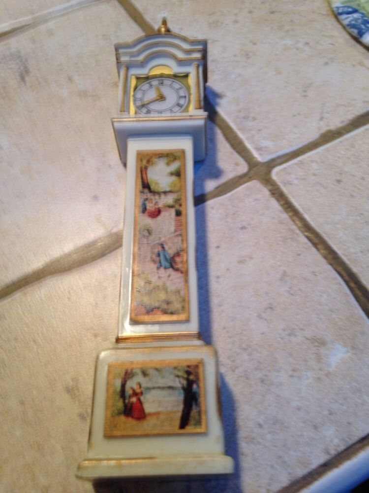 Ideal Petite Princess Fireplace Miniature Lot Of 6 Buffet Clock Tea Cart Table   eBay