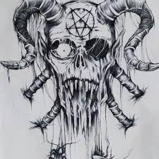 Resultado De Imagen De Demonios Con Cuernos Tatuajes Demonios Arte Manga Arte