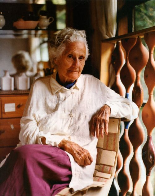 Ever-inspired by the lives of artists.     (via Eva Zeisel, Ceramic Artist and Designer, Dies at 105 - NYTimes.com)