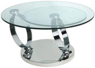 Greenapple Glass Plus Magic Rotating Coffee Table LY6233