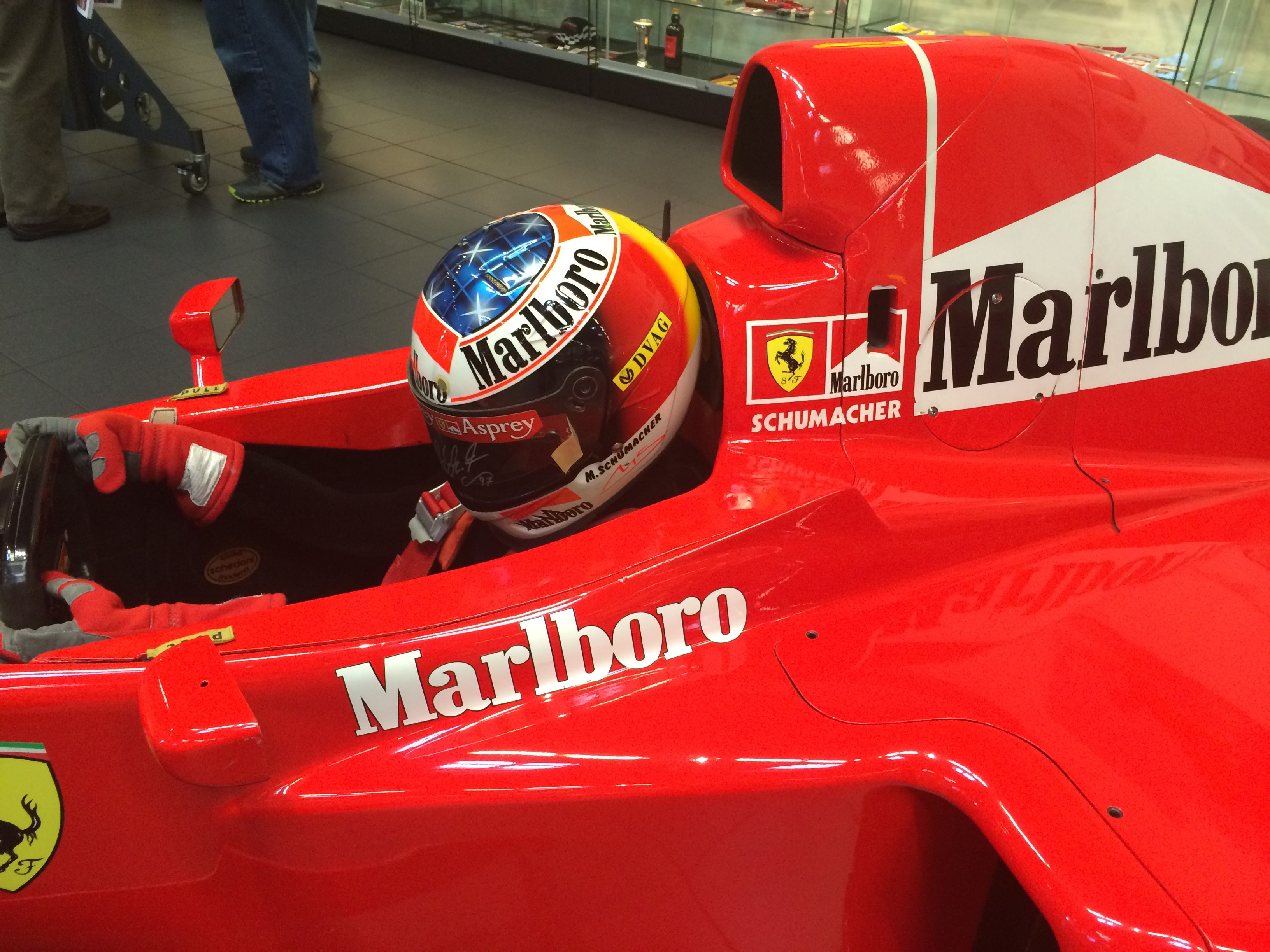Michael Schumacher 1997 Ferrari F310B Helmet Imgur