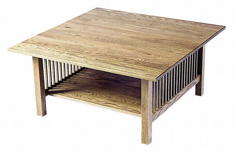 American Mission Square Coffee Table Coffee Table Coffee Table Square Coffee Table Wood