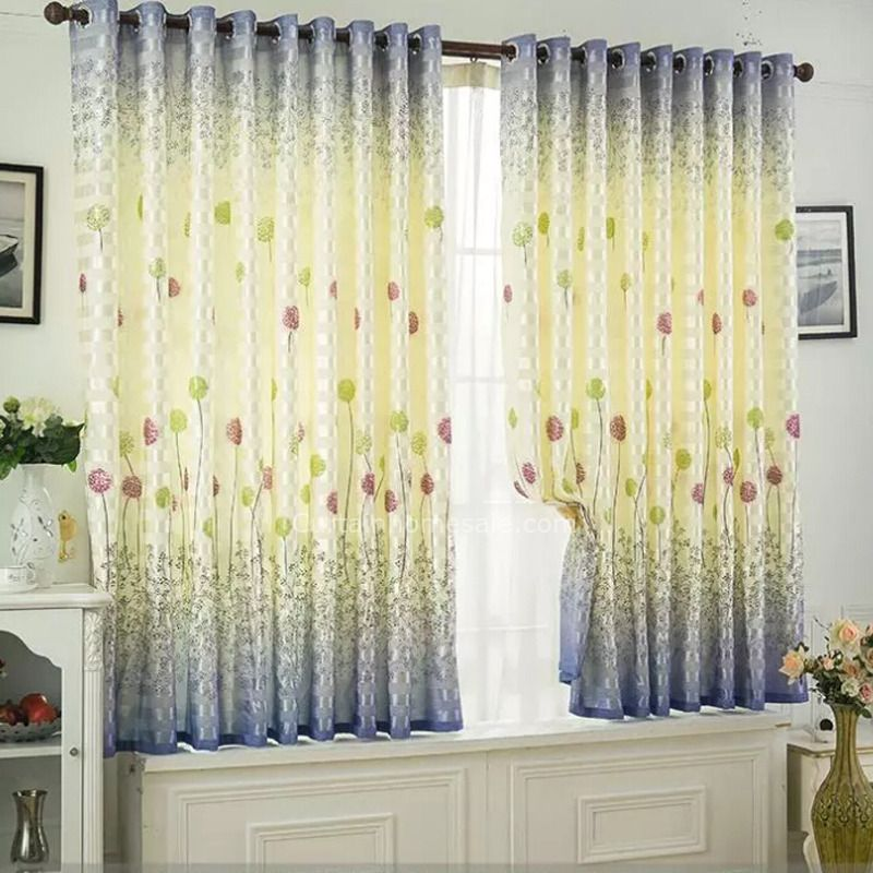 Beautiful Lavender Bedroom Curtains