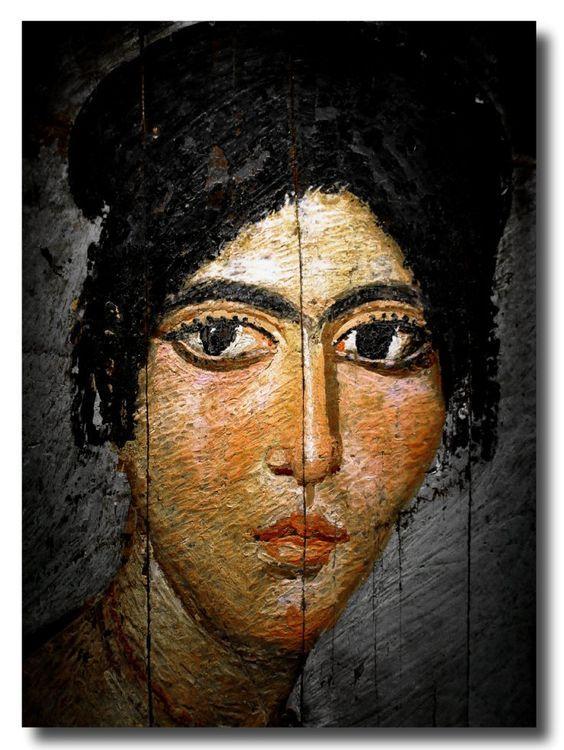 Fayum mummy portrait | Portrait painting, Ancient