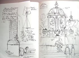 One morning I headed west on St-Germain-Des-Prés and then south, (left) on Rue de Seine... I wandered the area bordered by those two s...