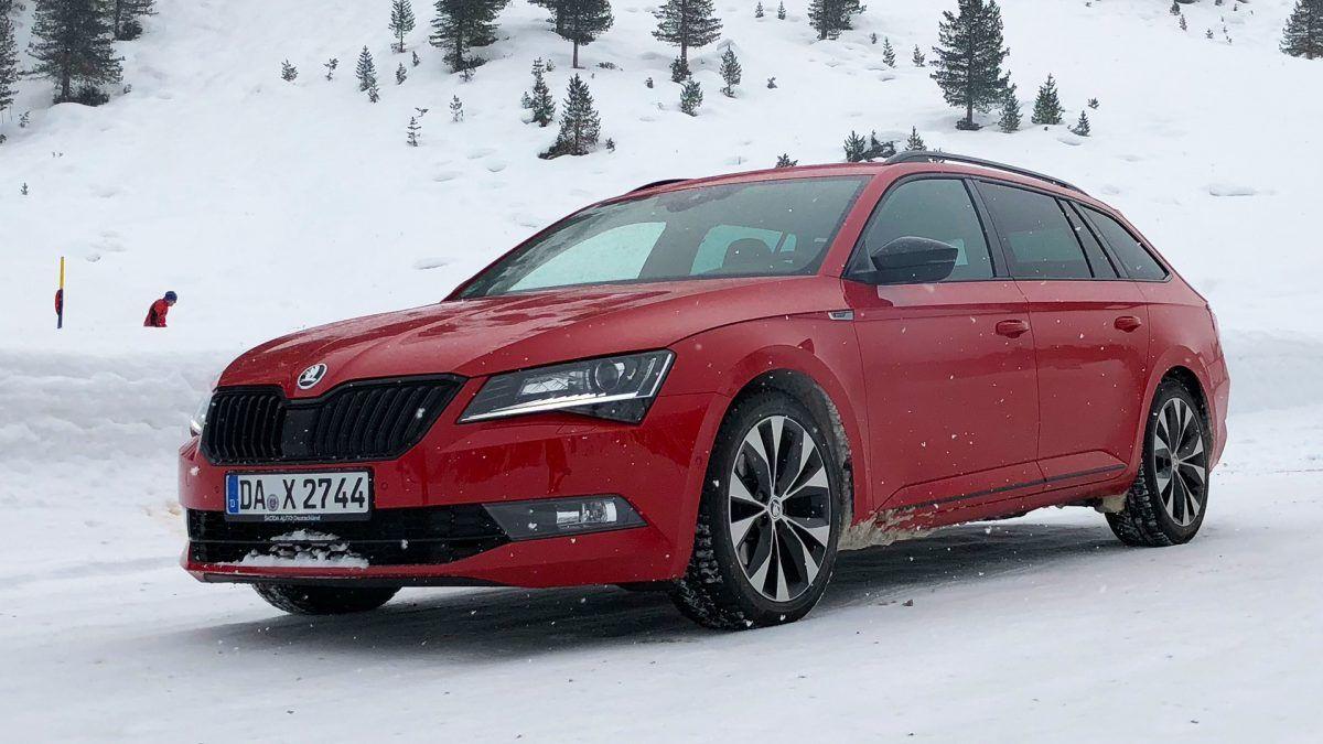Skoda Superb bi Vergleich Audi Mercedes BMW und Volvo V90