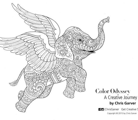 Flying Elephant Colouring In Page Free Card Making Downloads Digital Craft Crafts Beautiful Mag Elephant Coloring Page Flying Elephant Elephant Colour