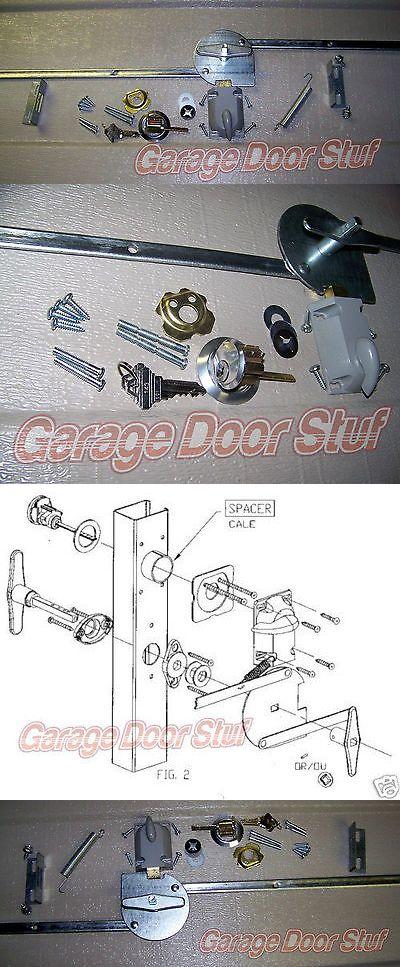 Other Garage Door Equipment 180973 Garage Door Lock Set 1 Car Door