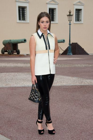 Actress Adele Exarchopoulos attends the Louis Vuitton Cruise Line... News Photo 491846241