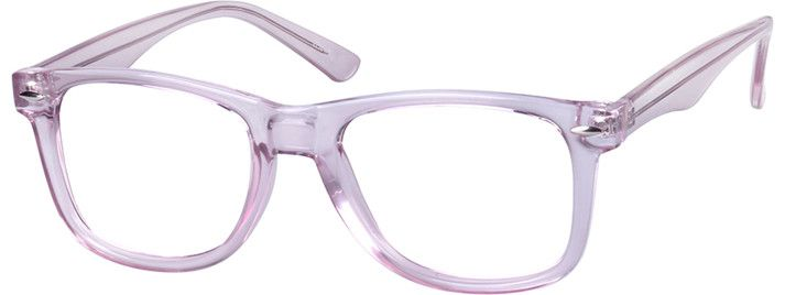 Purple Square Eyeglasses #123617 | Zenni Optical Eyeglasses ...