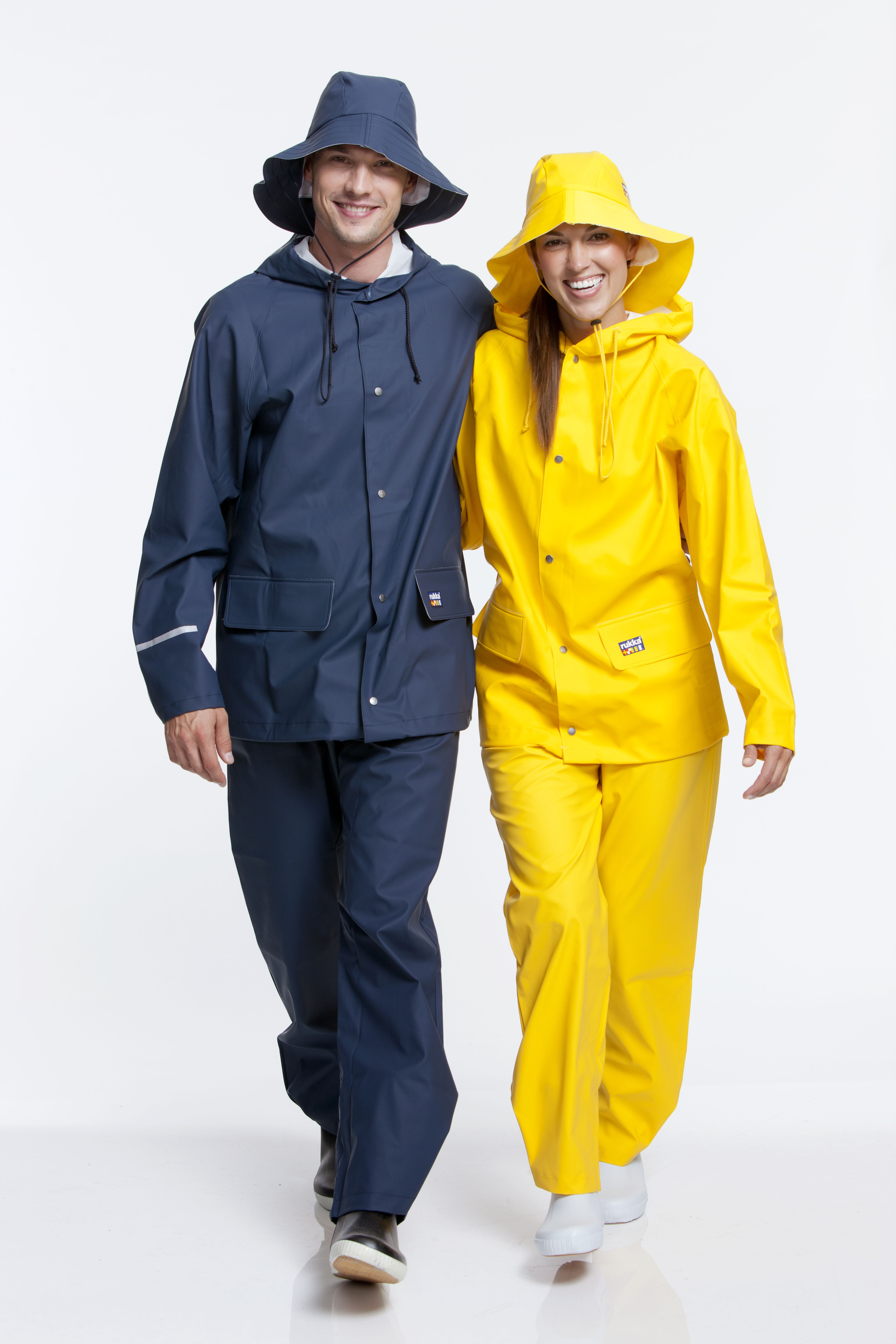 Rukka adult rainwear sets navy blue and yellow  d722bbdc30a