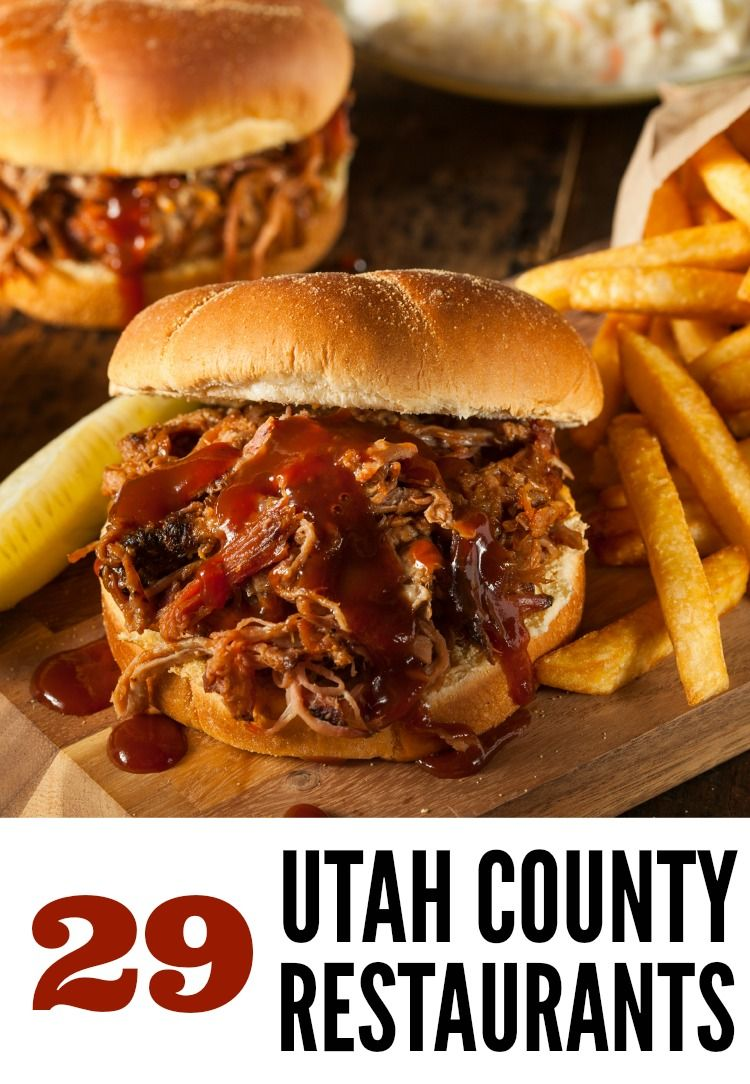 Restaurants In Utah County I Think They Missed A Few Really Good Ones But