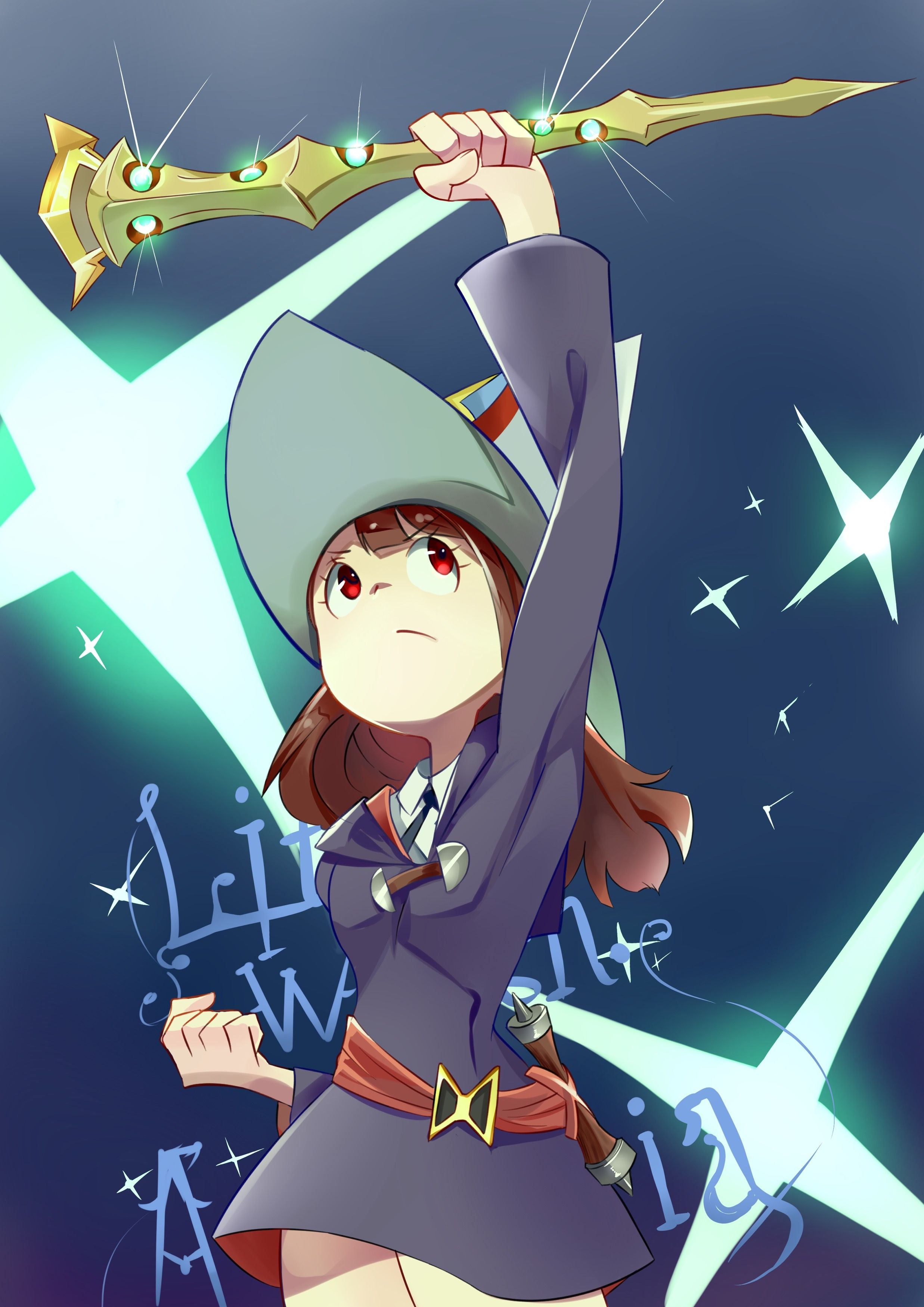little witch academia Part 1 bVDDEF/100 Anime, Little