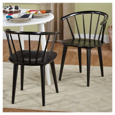 Dining Chair Wood Black Dining Chairs