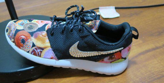 d84fa5811a6e Custom Donut Roshe Run Women by LeedasWorld on Etsy Roshe Run Shoes