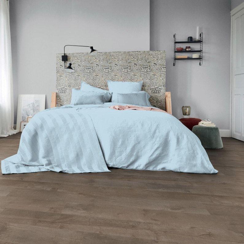 Sol Pvc Tarkett Effet Parquet Chene Brun Austria Intenso Mousse L 4 M En 2020 Sol Pvc Decoration Maison Pvc
