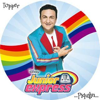 Kit Imprimible Gratis Junior Express Cumple Júnior Express