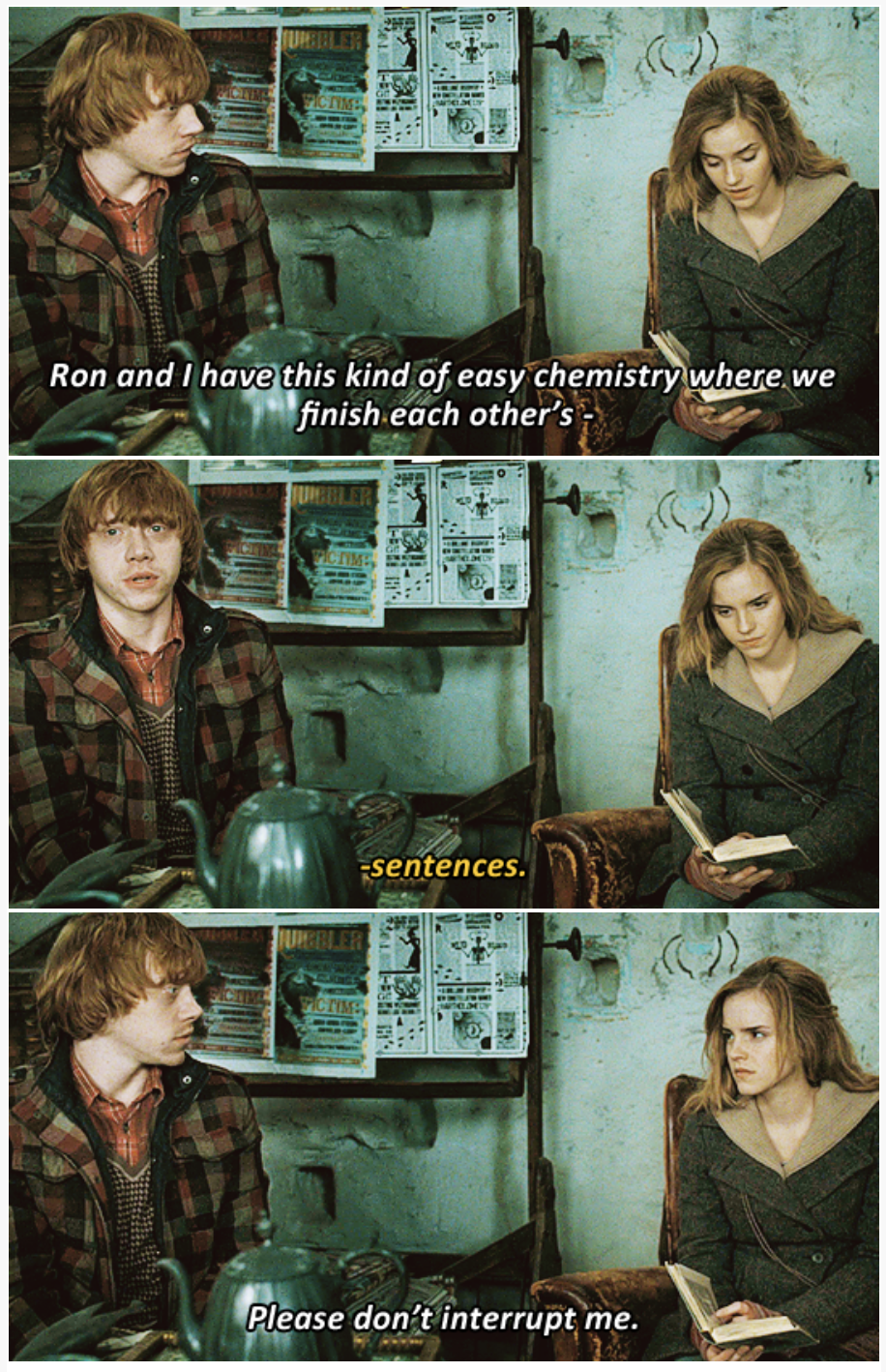 Someone Combined Harry Potter With Brooklyn Nine Nine Quotes And It S Amazing Harry Potter Funny Harry Potter Quotes Harry Potter Puns